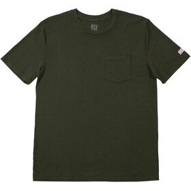 Topo Designs Pocket Tee Men, olive